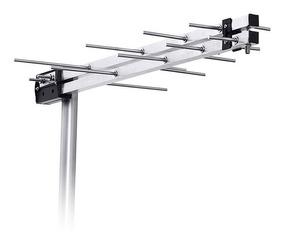 Antena Externa Log Periódica Aquário Lu-8m Uhf Hdtv Digital
