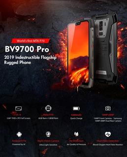 Smartphone Bv9700 Pro Rugged Mais Resistente Do Mundo