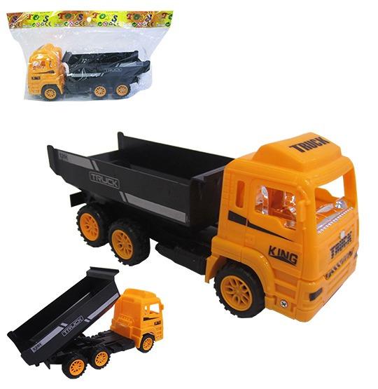 Caminhão Brinquedo Infantil A Fricção Caçamba Terra Barato
