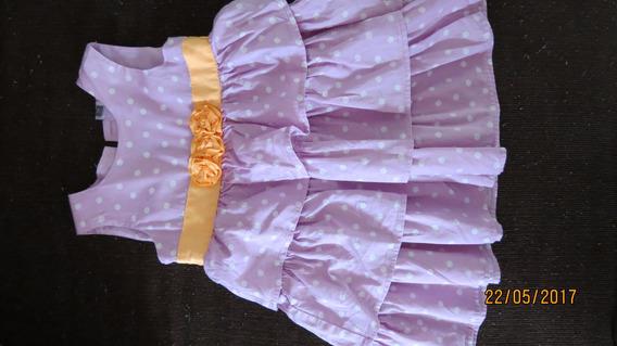 Vestido Carters Nena 3 Años Casi Nuevo