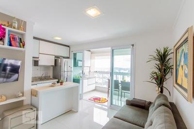 Apartamento No 31º Andar Com 1 Dormitório E 1 Garagem - Id: 892889061 - 189061