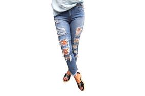 Calça Jeans Moscova Skinny Destroyed Emma Tamanho:42