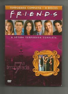 Box Friends Sétima Temporada Original - Lacrado 4 Dvd