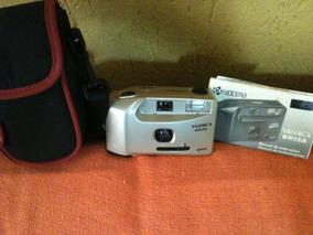 Camera Analógica Yashica Brisa Com Bolsa Colecionadores !!!
