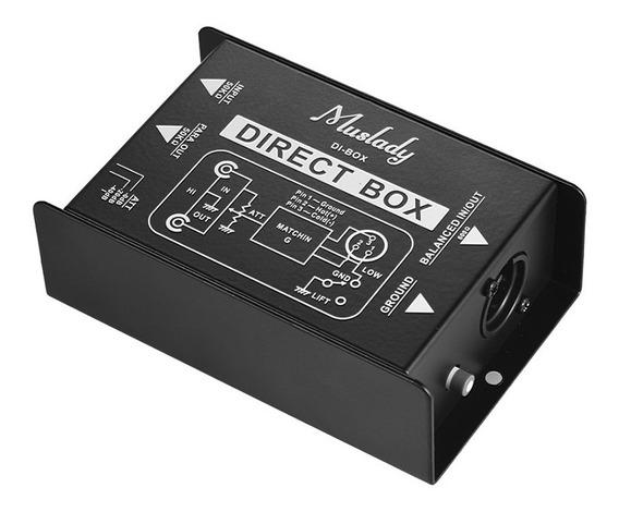 Muslady Professional Single Channel Passivo Di-box Direct
