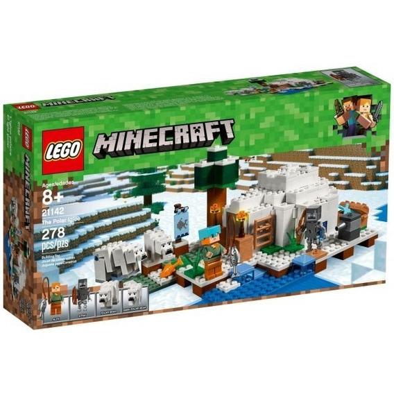 Lego 21142 - Lego Minecraft - O Iglu Polar + Frete Gratis