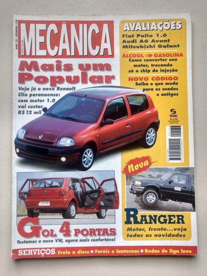 Revista Oficina Mecânica 138 Clio Ranger Gol Galant 143