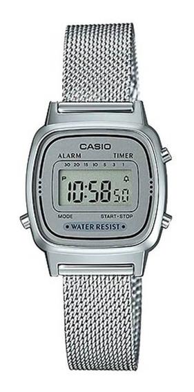 Relógio Casio Feminino Vintage La670wem-7df Original Nf