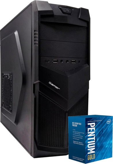 Cpu Bg3521 Pentium Gold G5400 Mb H310m 4gb Ssd 120gb 350w Nf