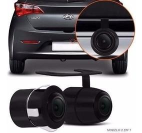 Câmera De Ré Automotiva Visão Noturna Colorida Prova D