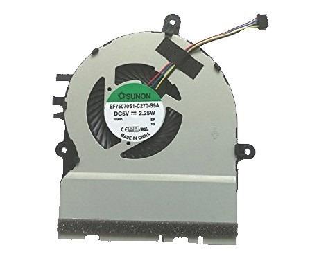 Ventilador Asus  X302 X302l X302la X302lj Ef75070s1-c270-s9a