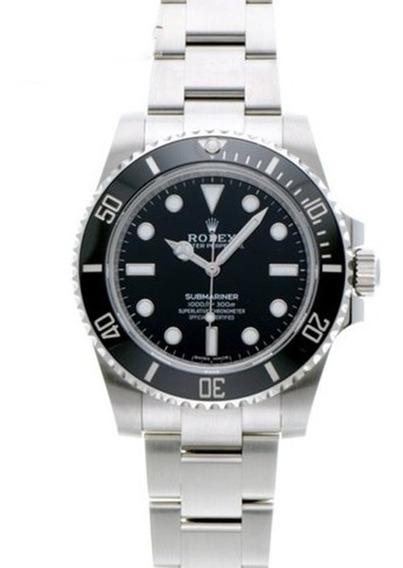 Relógio Rolex Submariner No Date 40mm Aço Automático