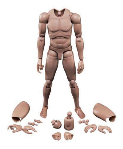 Manequim Boneco Articulado Desenho Masculino 30 Cm Mx02