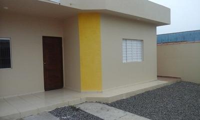 Casa Nova Itanhaem Próximo A Praia Cod: 064