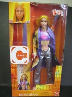 Muñeca Sensacional Cantando Vitamina C Por Mattel