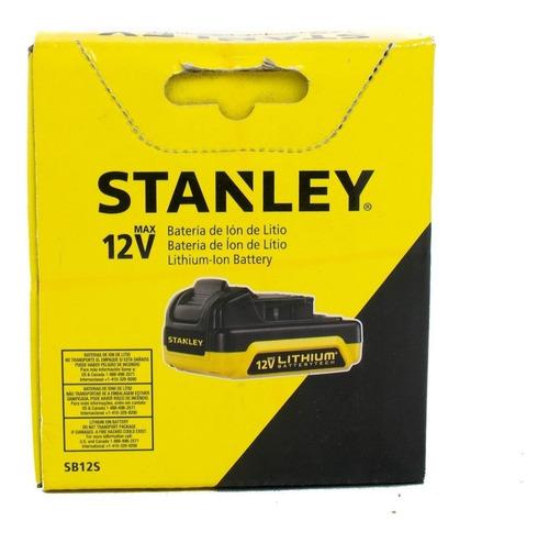Bateria Stanley 12v Ion Litio Sb125-ar 1,5 Ah