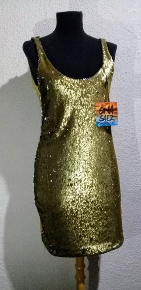 Vestido Marca Ona Saez Nuevo Con Etiqueta. Talle Medium