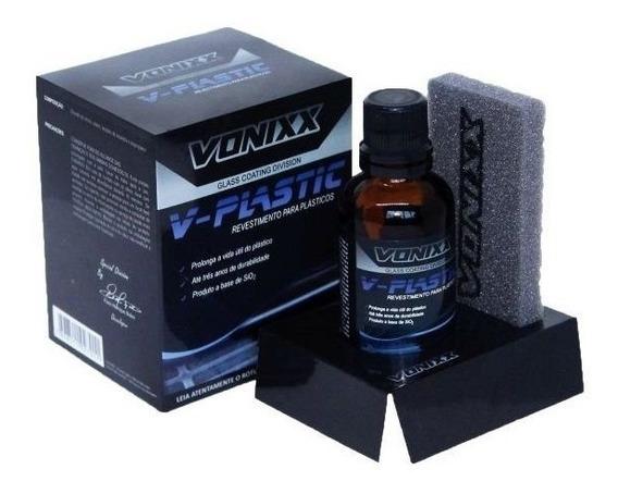 Vitrificador Revestimento Plastico V-plastic 20ml Vonixx