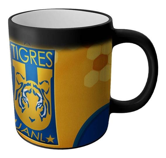 Taza Magica Tigres Uanl Productos Futbol Mexicano Articulos Regalos Cosas Accesorios Taza Sublimada Personalizada