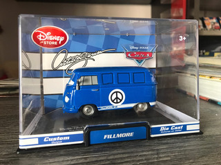 Kombi Vw Bus Cars Filmore Artist Series Rara