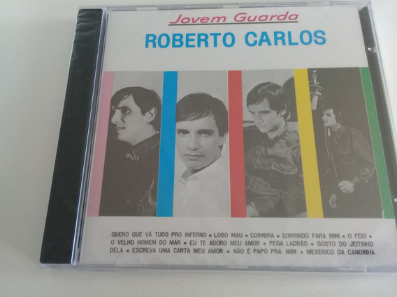 Roberto Carlos, Cd Jovem Guarda, 1965, Novo Lacrado