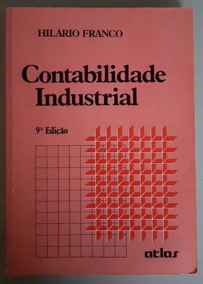 Livro Físico De Contabilidade Industrial - Hilário Franco
