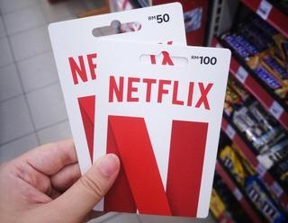 Card Netflix 50 R$