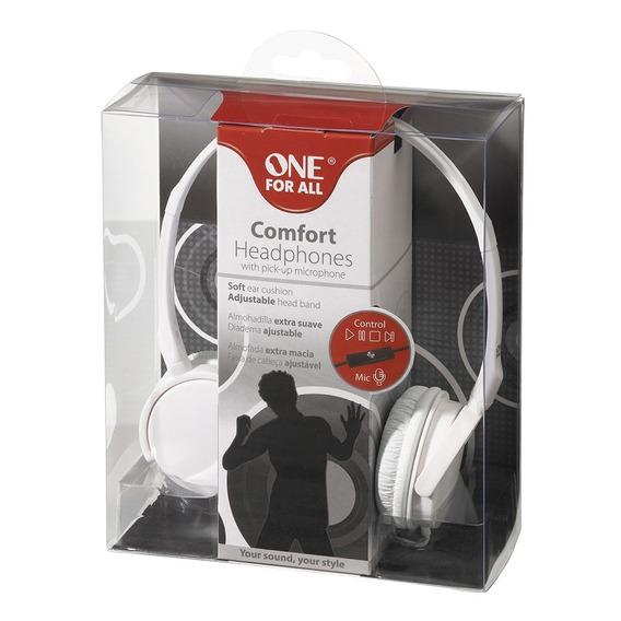 Headphone C/microfone E Controle De Funções No Cabo