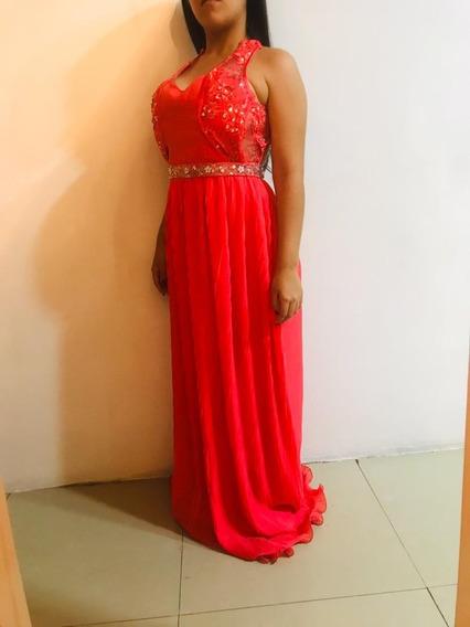 Vestido Largo De Gala De Noche 15 Años Boda Dama De Honor
