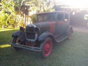 Ford Tudor 1929 Fordinho 29 Motor Original Fordor Phaeton