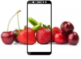 Película Vidro 3d Cobre Tela Inteira Galaxy A8 2018
