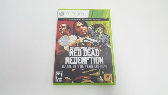 Red Dead Redemption Edição Jogo Do Ano - Xbox 360 - Original