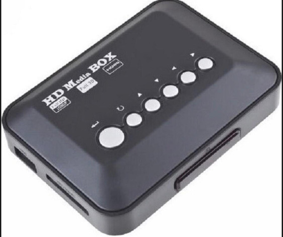 Media Player Hdmi Usb Sd Mmc 1080p