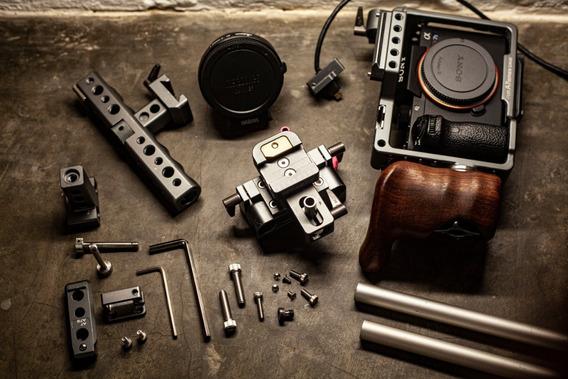 Sony Alpha 7 Sii + Cage Tilta Es-17 + Metabones Ex/ef