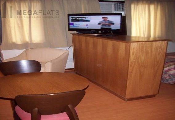 03086 - Flat 1 Dorm, Brooklin Novo - São Paulo/sp - 3086