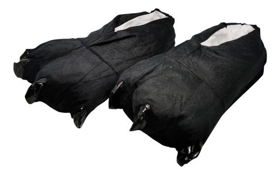 Pantuflas De Garras Color Negro Unisex Cómodas Envío Gratis