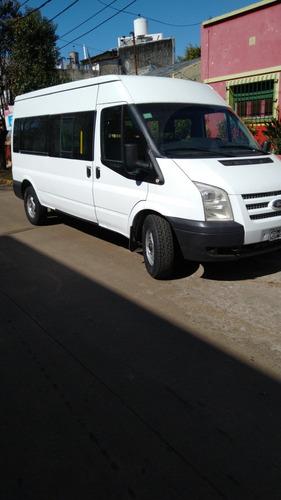 Ford Transit Mini Bus Modelo 2013 Gran Oportunidad