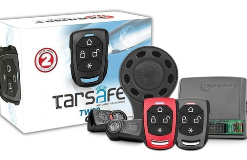Alarme Automotivo Para Carro Taramps Tw20 2 Controles
