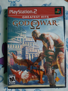 God Of War 1 Nuevo Sellado Play Station 2 Ps2, Inglés