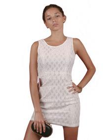 f46c610489 Vestido Blanco Corto Al Cuerpo - Vestidos en Mercado Libre Argentina