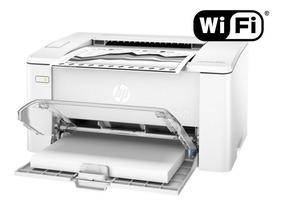 Impressora Hp Laserjet Pro M102w C/ Wifi 110v Tonner