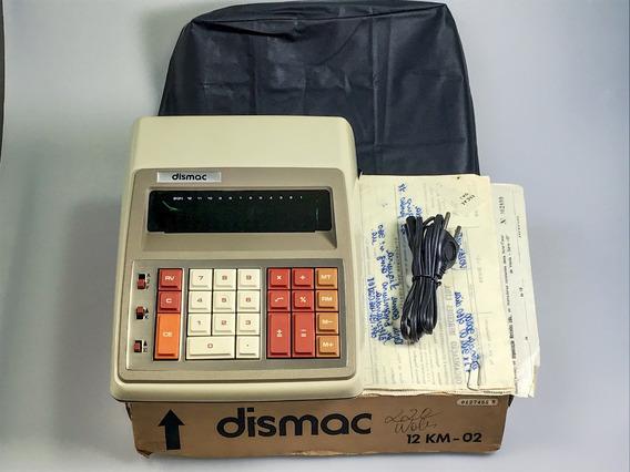 Calculadora Dismac De 1978 Como Nova C Nf E Caixa