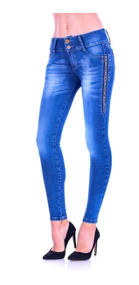 Pantalón De Mezclilla Jeans Gal-2007