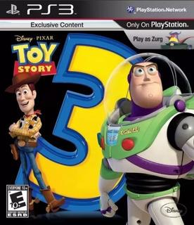 Toy Story 3 Ps3 Original- Play Perú