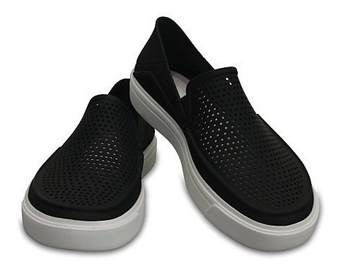 Crocs Originales Citilane Negras Tipo Panchas