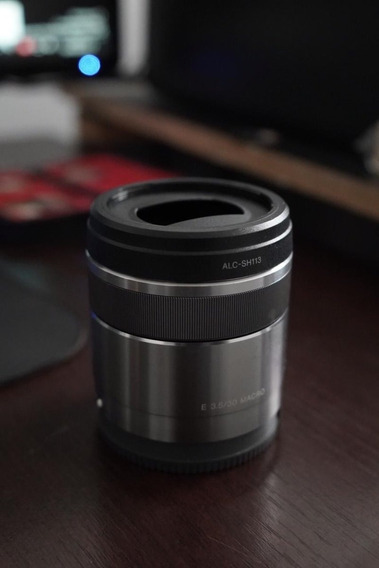 Lente Sony E 30mm F3.5 Macro, E-mount Nex, A7, A7s, Ilce...