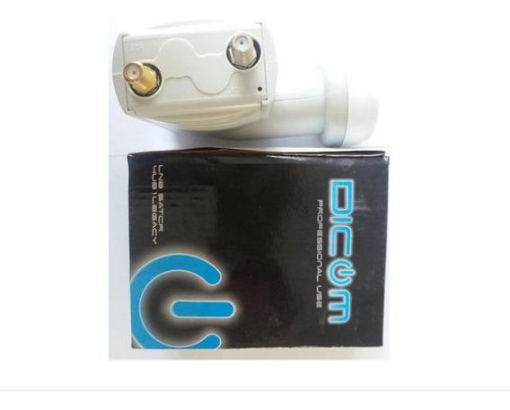 Kit Com 3 Lnb Otimizado Prime(oi Tv Ses6) - Dicom- Quad