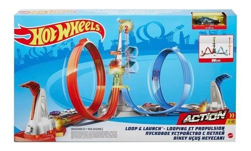 Imagem 1 de 2 de Hot Wheels Action  Desafio Da Altura Grw39  Mattel