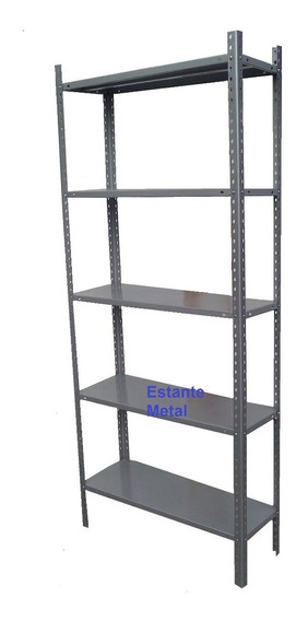 Anaquel Estante Metálico 5 Niveles Rack 85x30