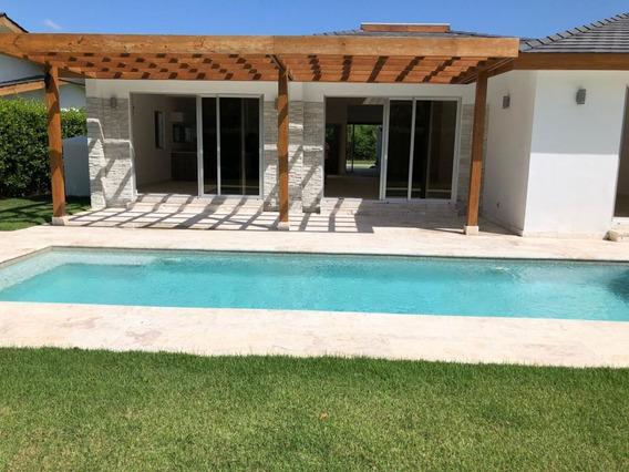 Villa A Estrenar En Cap Cana, Las Canas